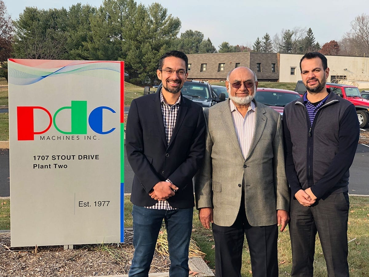 PDC Machines Afzal family owned business