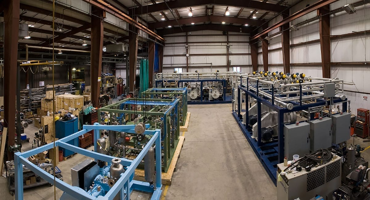 fully equipped manufacturing building 2