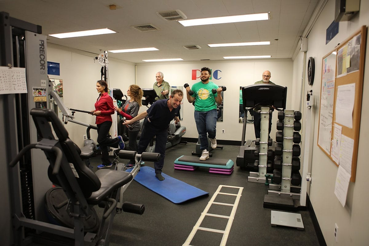 employee health and fitness center