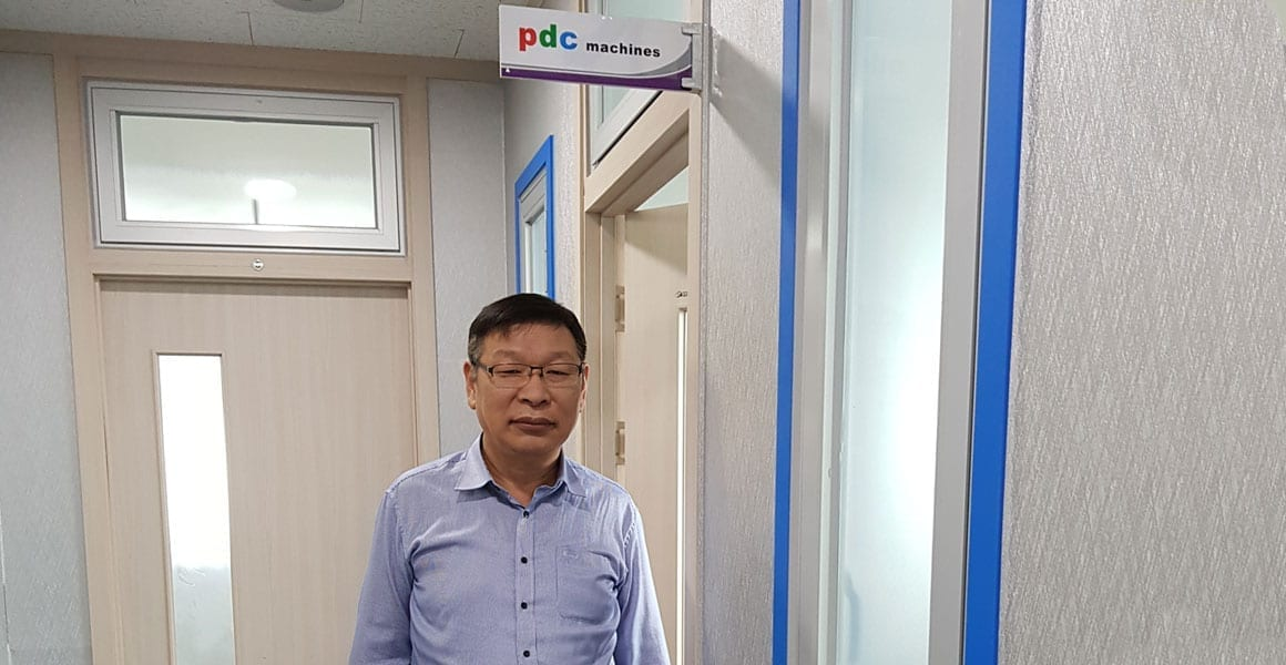 PDC Machines Korea sales and support team