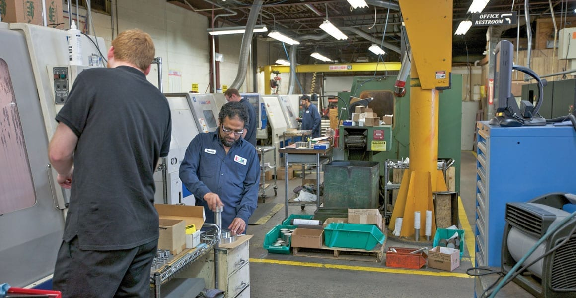 Machining operations for thousands of parts