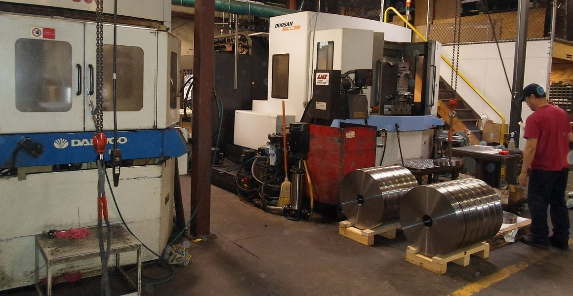 machines running with the latest tooling manufacture diaphragm compressor components