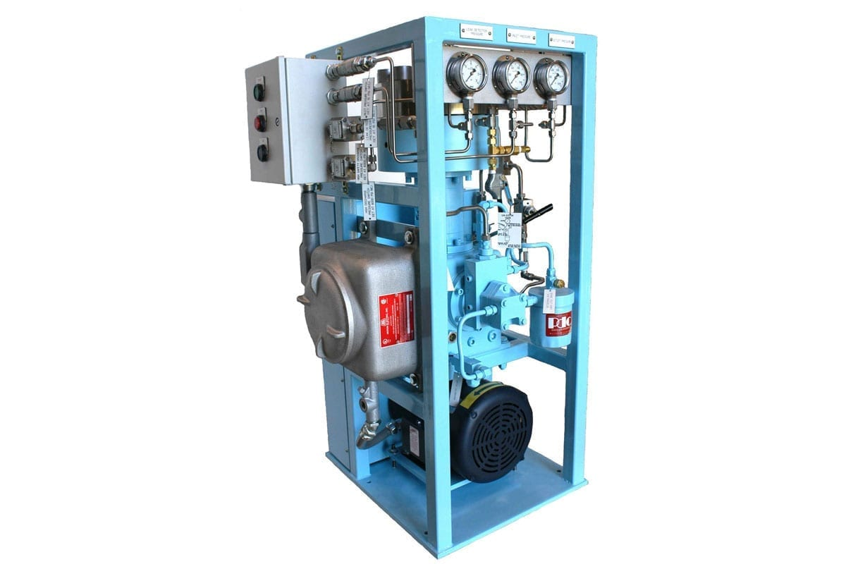 diaphragm compressor for residential and power telecommunications