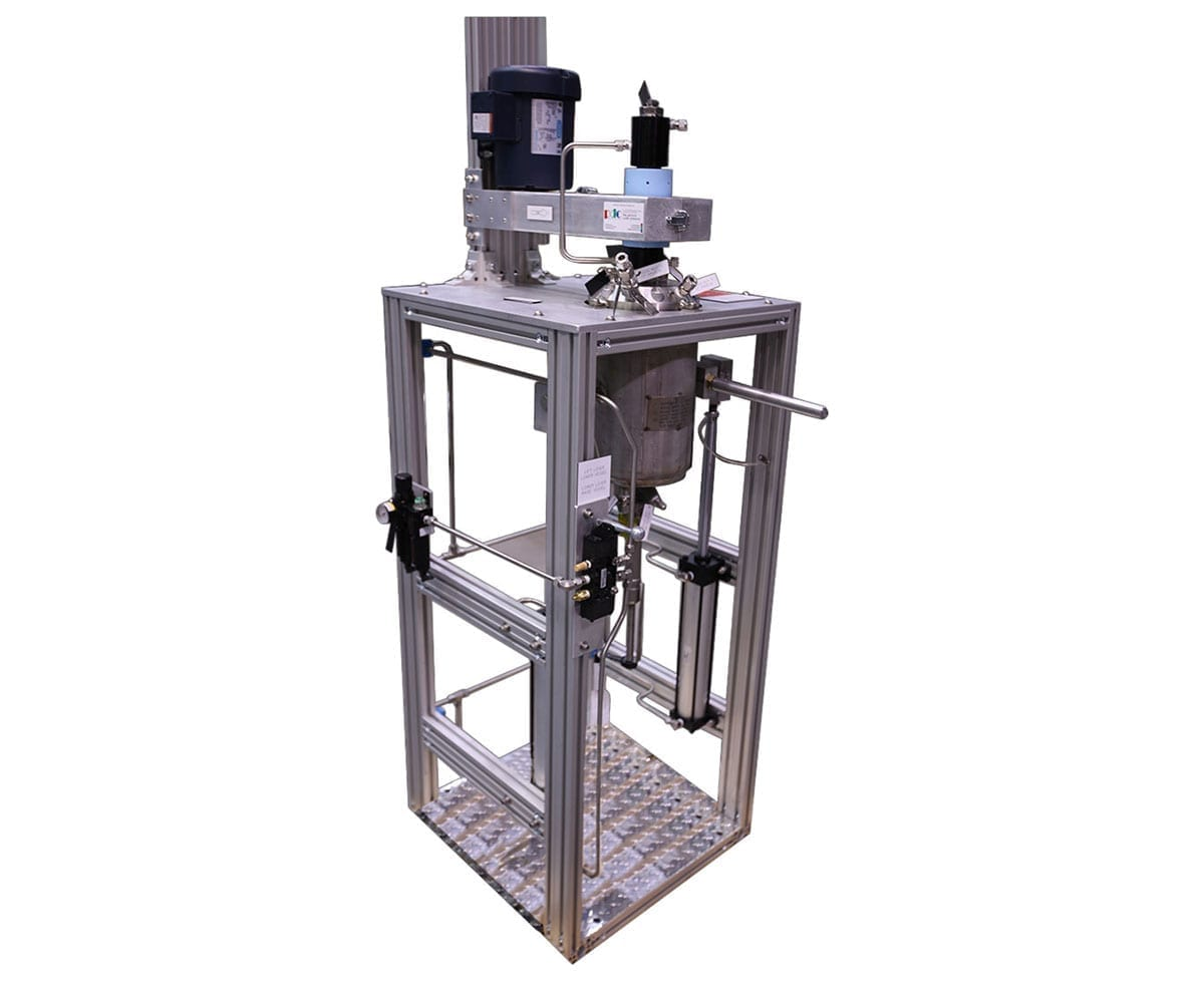 stainless steel stirred reactor
