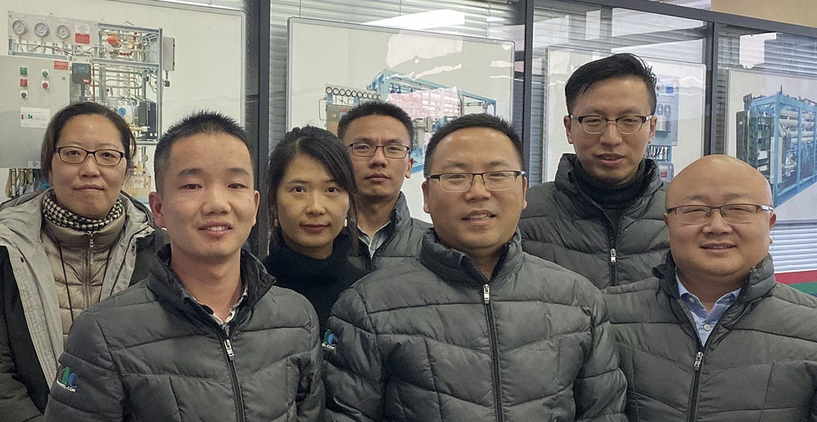 PDC Machines China Sales and Service Team