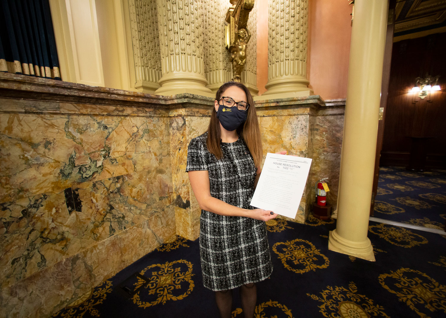 PA State Representative Megan Schroeder's Fuel Cell Day photo