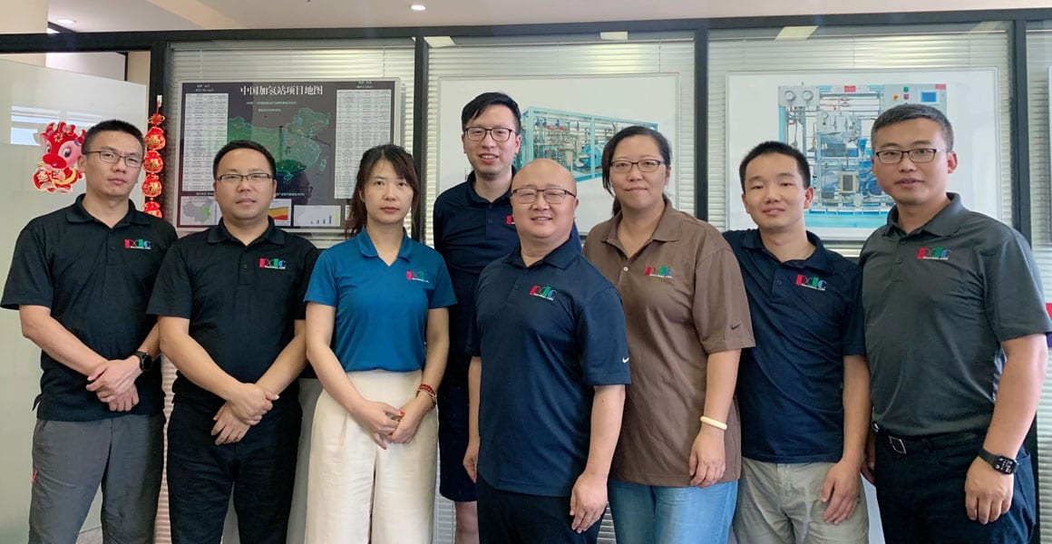 PDC Machines China Sales and Support Team photo