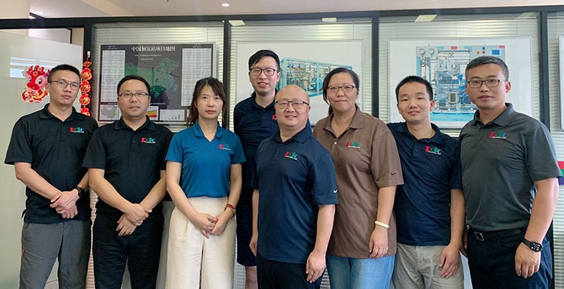 PDC Machines China Sales Team contact