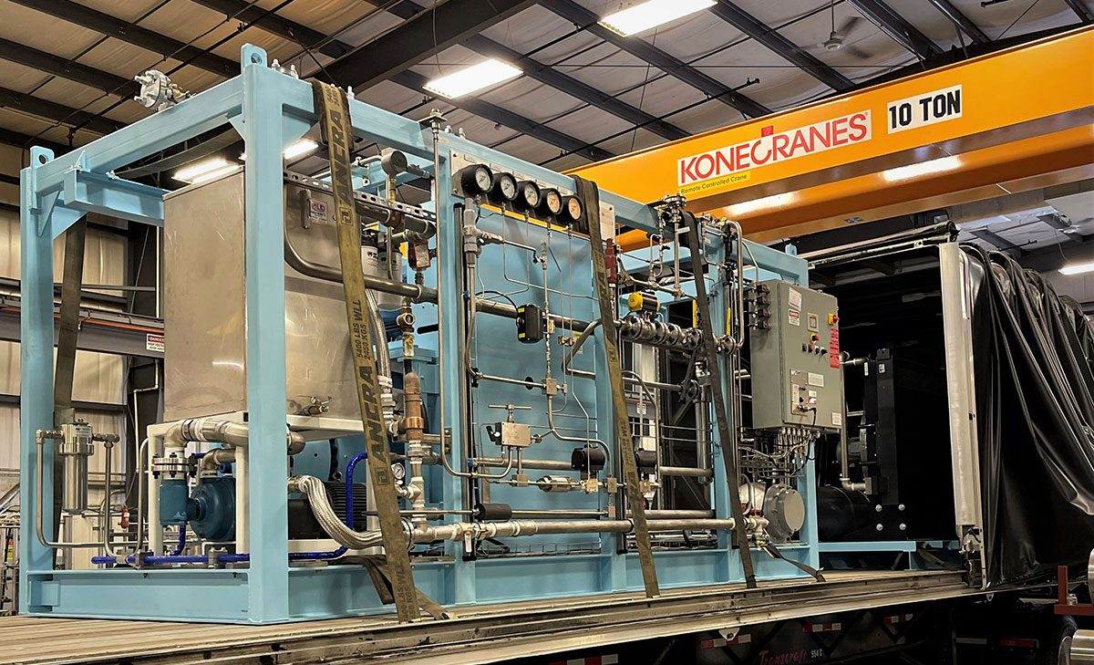 PDC Machines Compressor for California Retail Station photo